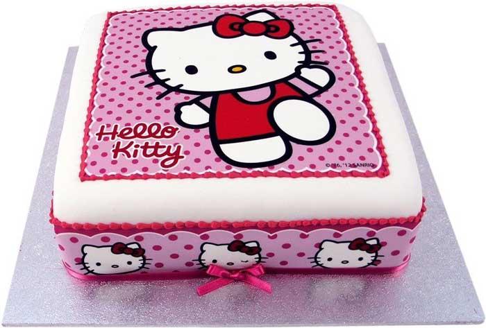 hello kity designer cake