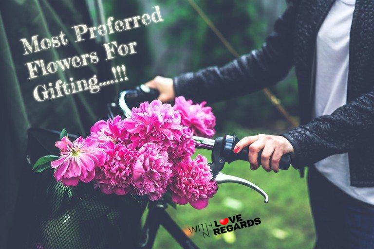 gifting fresh flower bouquet