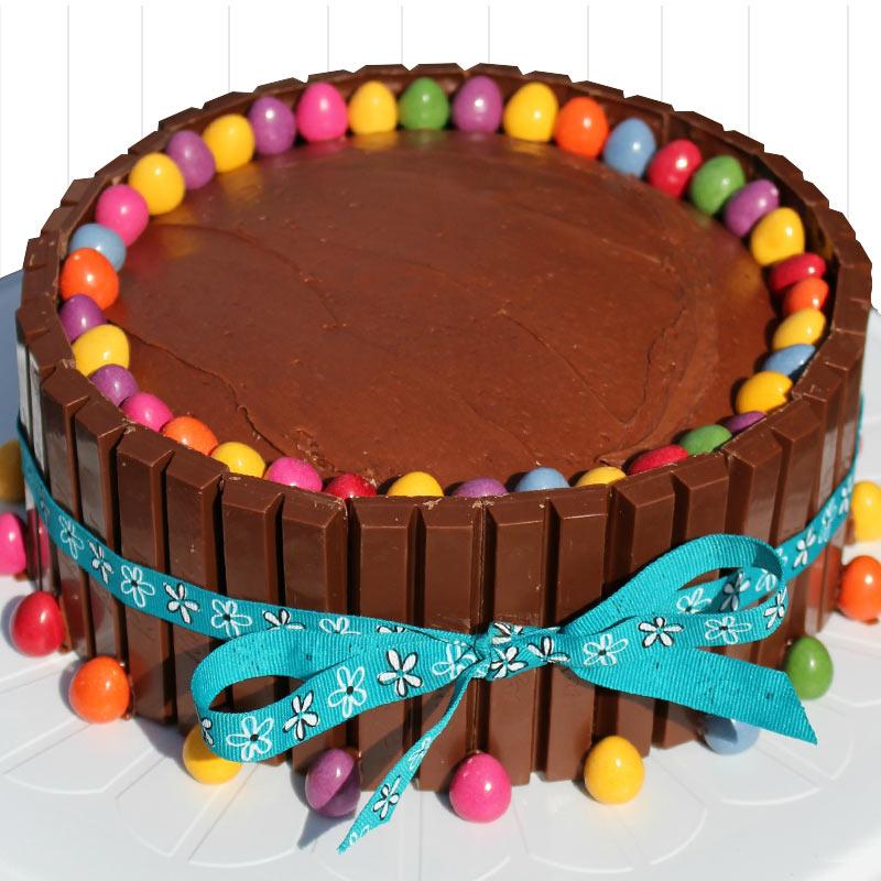 Kitkat suger free cake