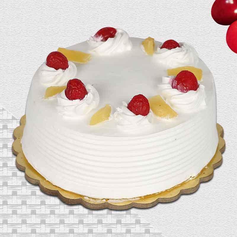Pineapple eggless cake