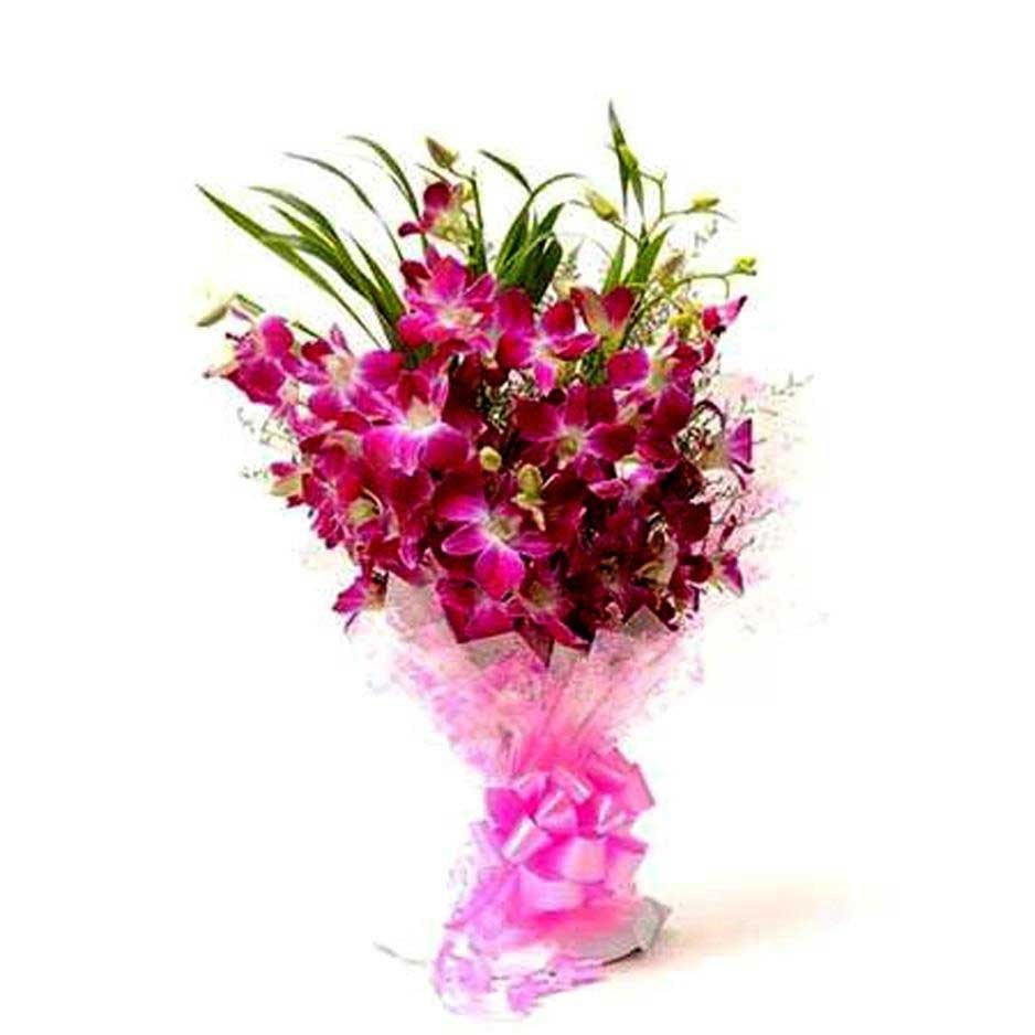 Bouquet of orchids