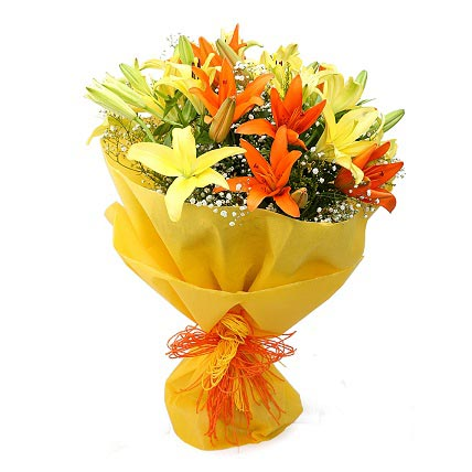 Mixedup lilies