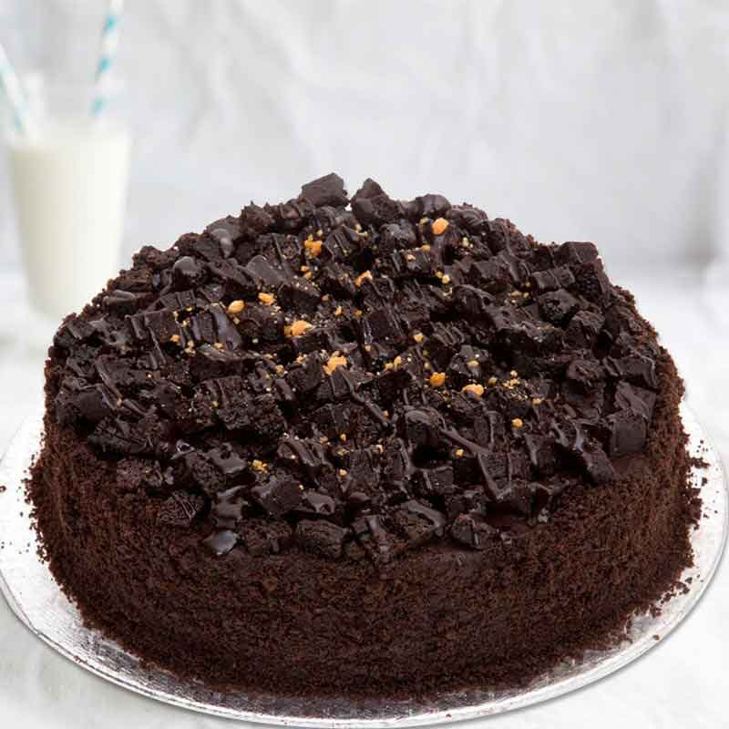 Choco rock cake