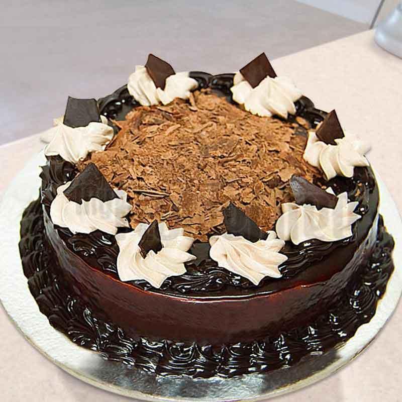 Chocolate cake eggless
