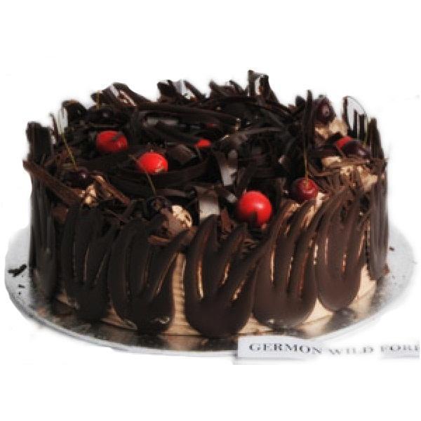 German wild forest cake