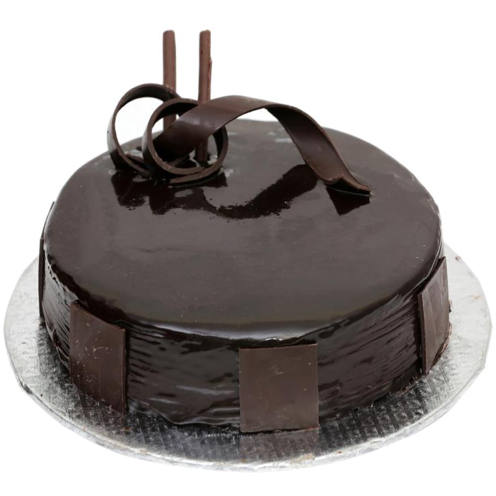 Plain chocolate cake