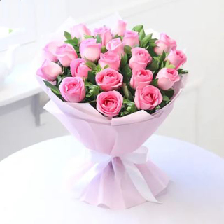 Blush of pink
