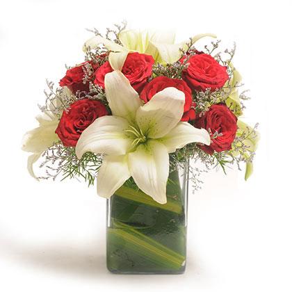 Roses n lilies