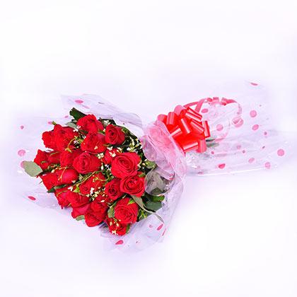 24 red blossom