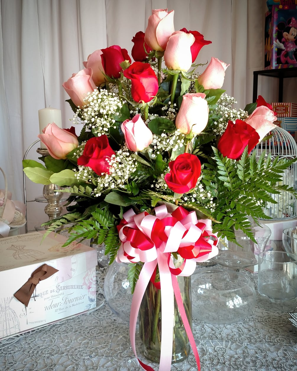 Perfect pair of bouquet