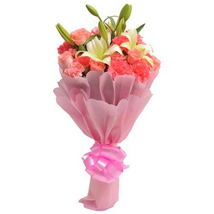 Carnation n lilies
